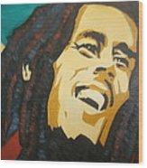 Bob Marley-amazing Story Wood Print