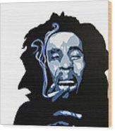 Bob Marley Wood Print by Michael Ringwalt