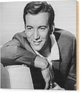 Bobby Darin, C. Mid-1950s Wood Print by Everett