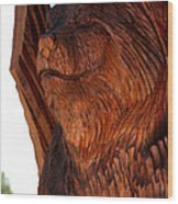 Bobcat Closeup Wood Print