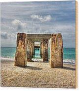 Boca Grande Ruins In Paradise Wood Print