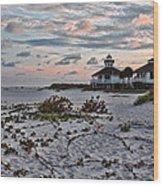 Boca Grande Sunset Wood Print