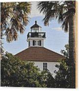 Boca House Of Lights Wood Print
