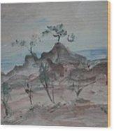Bodega Head Wood Print