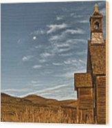 Bodie California Church Wood Print