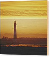 Bodie Island Lighthouse, Oregon Inlet Wood Print