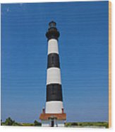 Bodie Island Lighthouse Outer Banks Wood Print