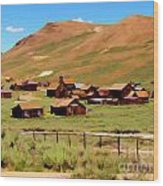 Bodie Paint Photo Wood Print