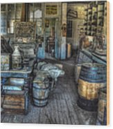 Bodie State Historic Park California General Store Wood Print