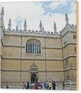Bodleian Library Wood Print