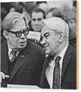 Bogolyubov And Keldysh, Soviet Scientists Wood Print