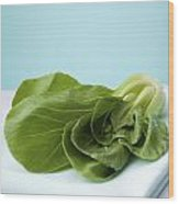 Bok Choy Chinese Cabbage Wood Print