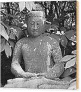 Bold Buddah Wood Print