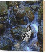 Bolin Creek Wood Print