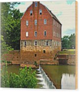 Bollinger Mill Wood Print