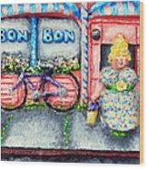 Bon Bon Betty Wood Print