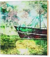Bon Voyage Wood Print by Ankeeta Bansal
