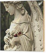 Bonaventure Angel 12 Wood Print