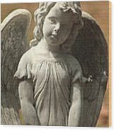 Bonaventure Angel 4 Wood Print