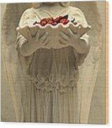 Bonaventure Angel 9 Wood Print
