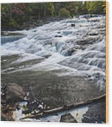 Bond Falls Upper 1 Wood Print