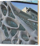 Bond Street Sculpture Wood Print