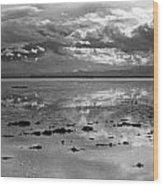 Bonneville Salt Flats Two Wood Print