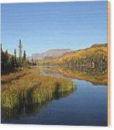Bonnie Lake Wood Print