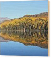 Bonnie Lake Reflections Wood Print