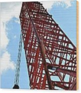 Boom Tower Wood Print