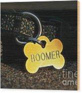 Boomer Gear Wood Print