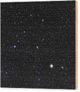 Bootes Constellation Wood Print