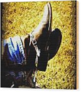 Boots1 Wood Print