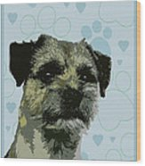 Border Terrier Wood Print