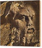 Born In Stone 3 Wood Print