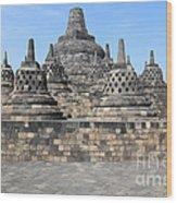 Borobudur Mahayana Buddhist Monument Wood Print