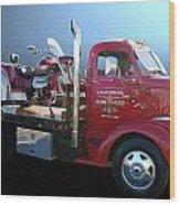 Boss Hoss Truck Wood Print