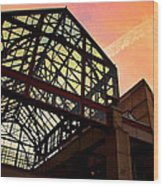 Boston - Faneuil Hall Market Place Wood Print