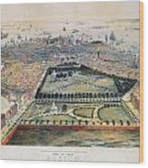 Boston, 1850 Wood Print