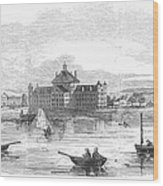 Boston: Almshouse, 1852 Wood Print