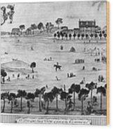 Boston Common, 1768 Wood Print