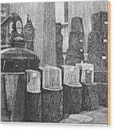 Boston: Industrial Fair Wood Print