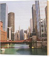 Chicago Skyscraper 2 Wood Print