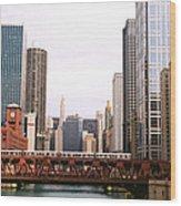 Chicago Skyscraper Wood Print