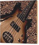 Botanical Bass Wood Print