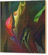 Botanical Fantasy 121211 Wood Print