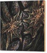 Botanical Fantasy 123011 Wood Print