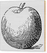 Botany: Apple Wood Print