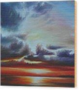 Botany Bay Sunrise Wood Print