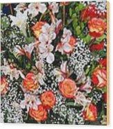 Bouquet Beauty Wood Print